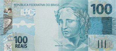 100 Brazilian Real Note