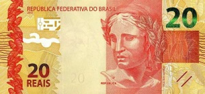 20 Brazilian Real Note