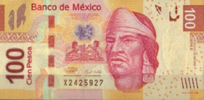 100 Mexican Peso Note
