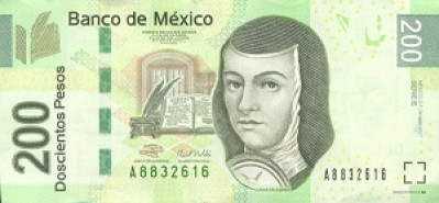 200 Mexican Peso Note