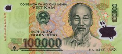 100 000 Vietnamese Dong Note