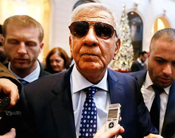 Iraq's Oil Minister Jabar Ali al-Luaibi arrives at a hotel ahead of a meeting of OPEC oil ministers in Vienna, Austria, November 28, 2016. Photo by Heinz-Peter Bader | Reuters