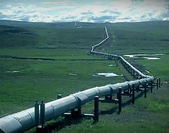 A network of pipeline connecting Iraq's northern oil fields to the Turkish port of Ceyhan.