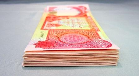 Circulated Iraqi Dinar notes